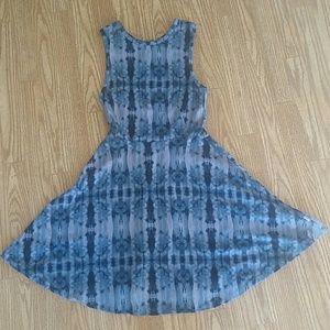 Vans Tie Dye Blue Skater Dress